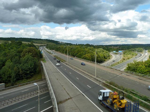 M25 junction 5
