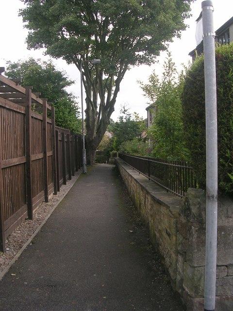 Footpath - Kirklands Road