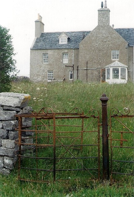Old House With a Fine Kissing Gate