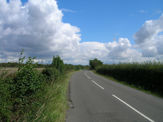 Field Lane heading east