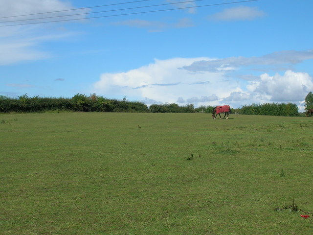 Farmland off the B6060