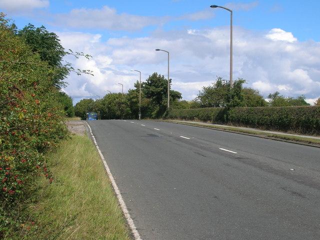 B6060 towards Wickersley