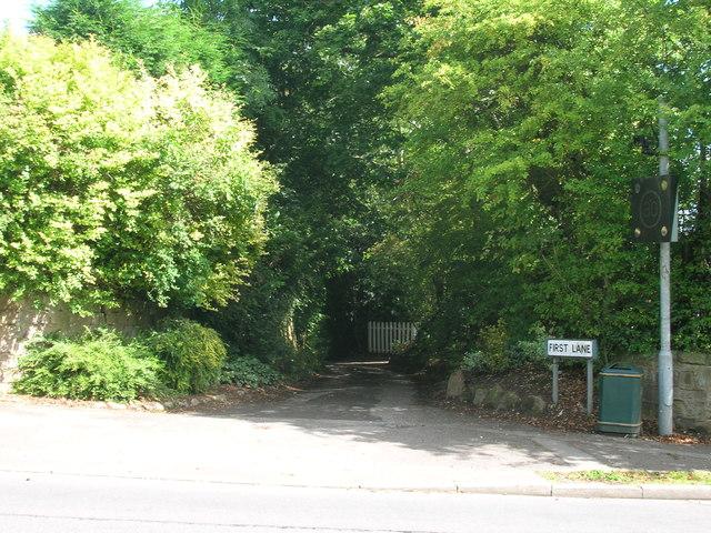 First Lane, Wickersley