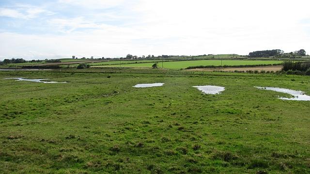 Flooded field, Hipsburn