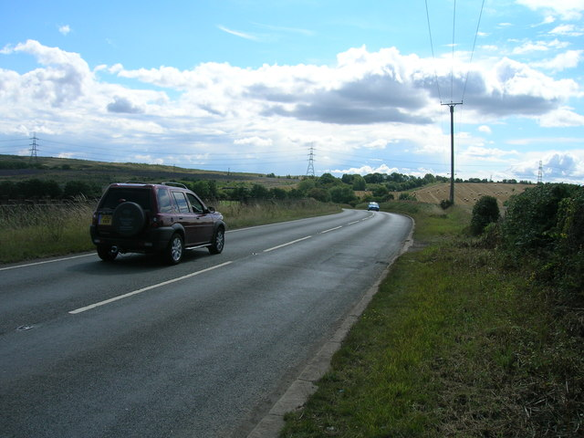 Kingsforth Lane towards Thurcroft