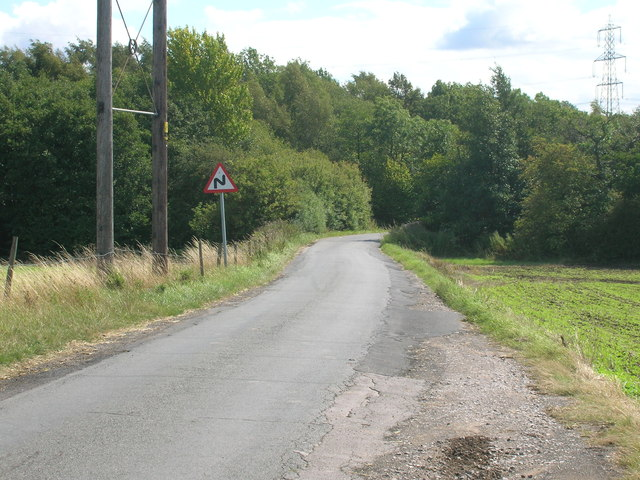 Newhall Lane towards Carr