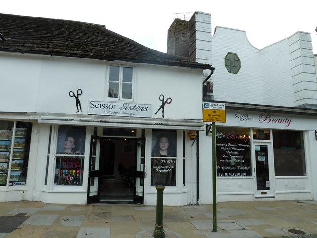 Scissor Sisters in Horsham town centre