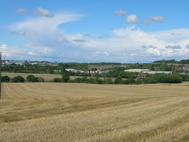 Farmland near Hooton Levitt