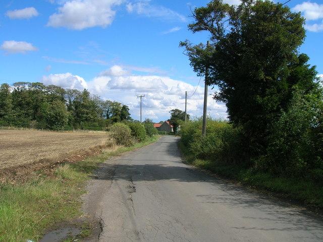 Gypsy Lane towards the A634