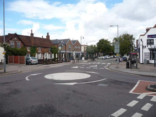 Southern end of the High Street, Stevenage