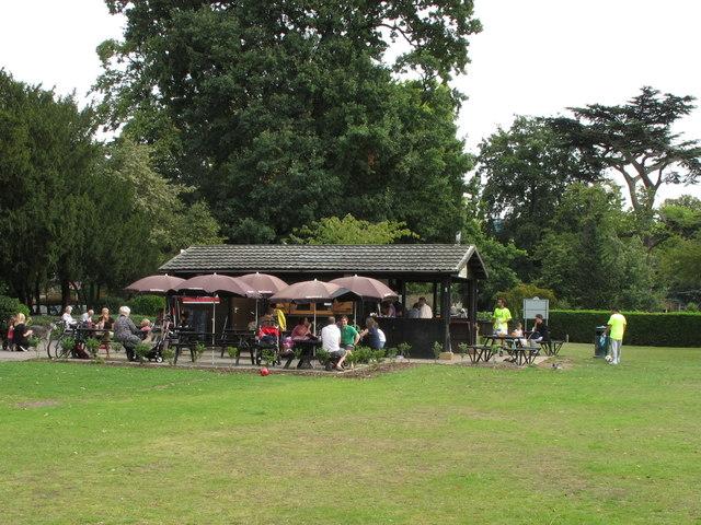 Café in Walpole Park, Ealing