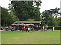 TQ1780 : Caf&eacute; in Walpole Park, Ealing by David Hawgood