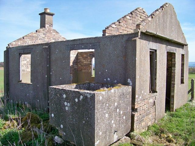 Disused Wartime Building Near Elwartlaw