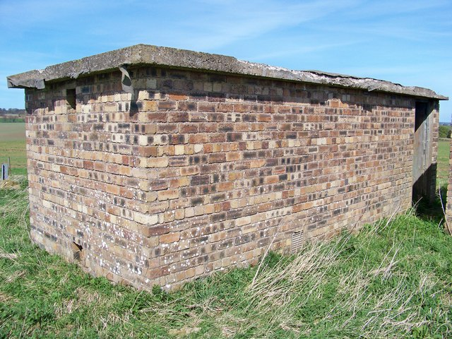 A Second Disused Wartime Building Near Elwartlaw