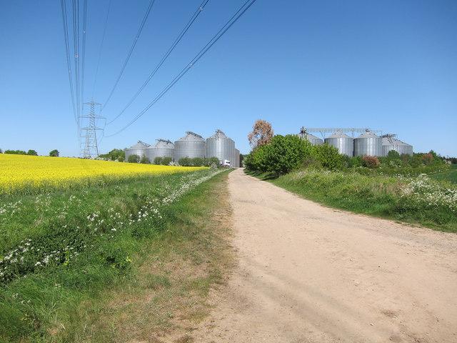 Bridleway towards Camgrain Linton APC