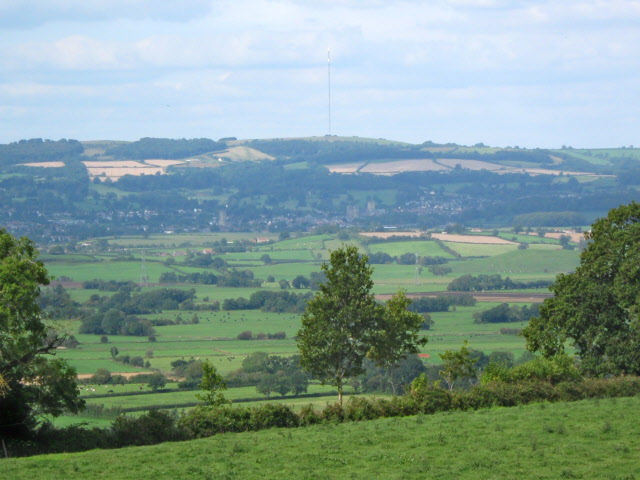Fields on Stonedown  Hill