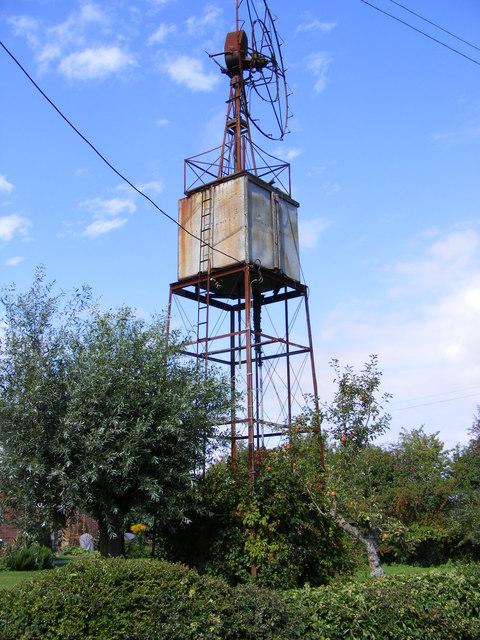 Wind Pump at Goddards Corner