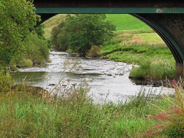 The Avon Water at Brown's Bridge