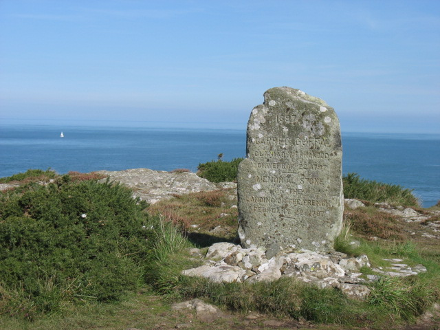 On Carregwastad Point