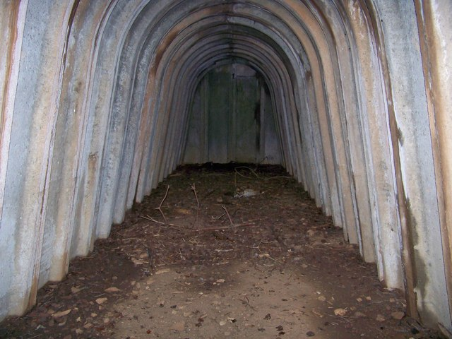 Stanton Air Raid Shelter (Internal View), West End Of WAAF Site #2, Former RAF Charterhall