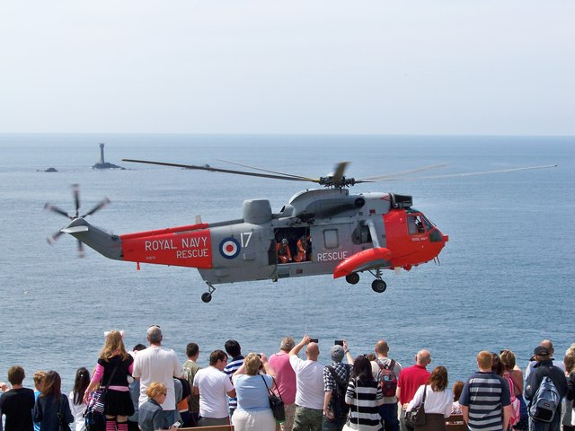 Royal Navy SAR Sea King