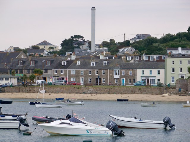 Hugh Town & St Mary's Power Station, Isles Of Scilly