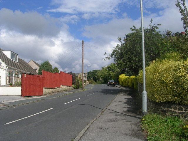 Fyfe Lane - viewed from Fyfe Crescent