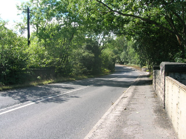 A631 towards Maltby