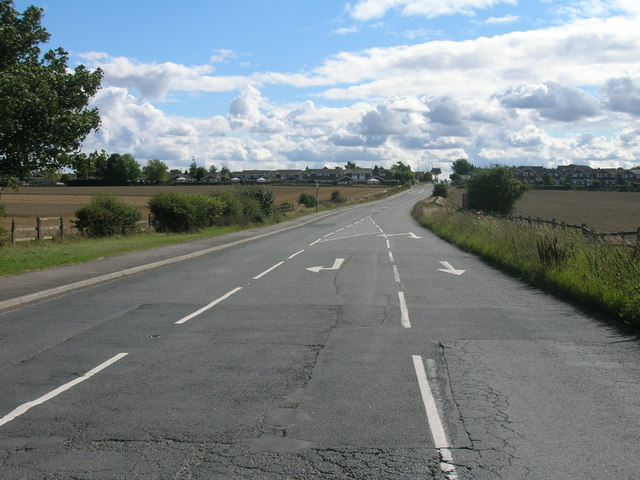 Grange Lane (B6427) towards Maltby