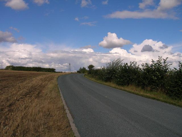 B6376 towards Braithwell