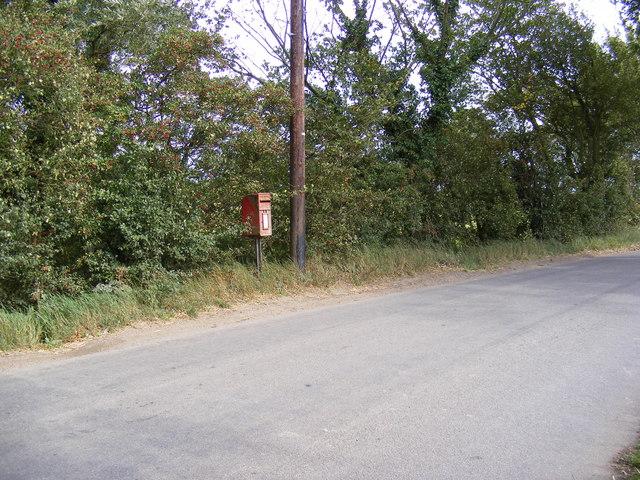 Grundisburgh Corner Postbox