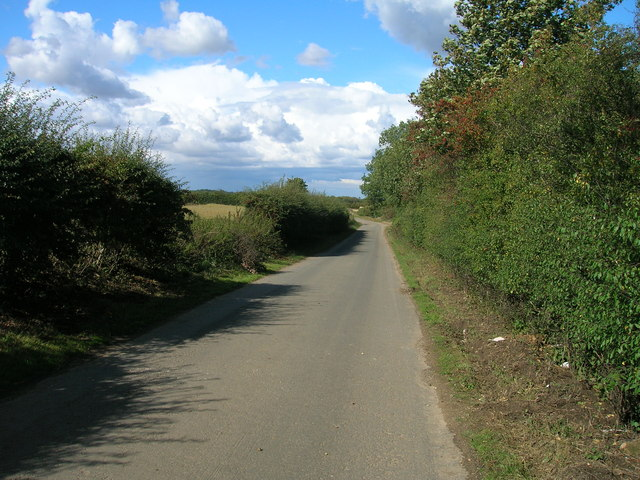 Rakes Lane towards Old Edlington