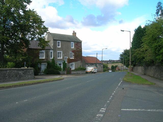 B6376 towards New Edlington
