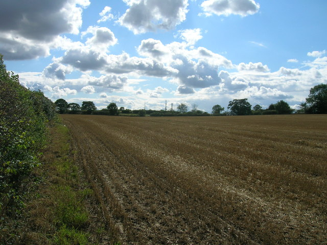 Farmland off Ruddle Lane