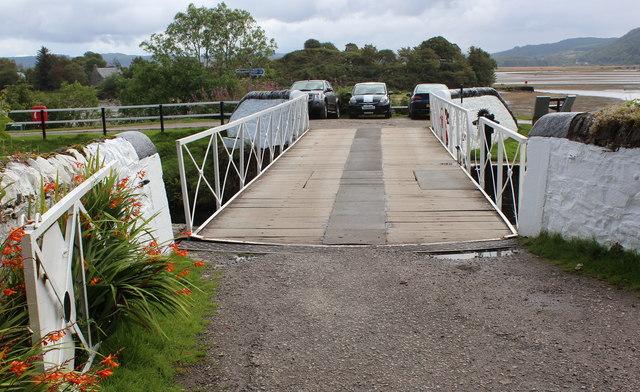 Crinan swing bridge