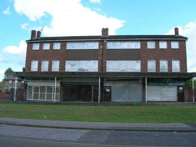 Shops on Broomhouse Lane, New Edlington