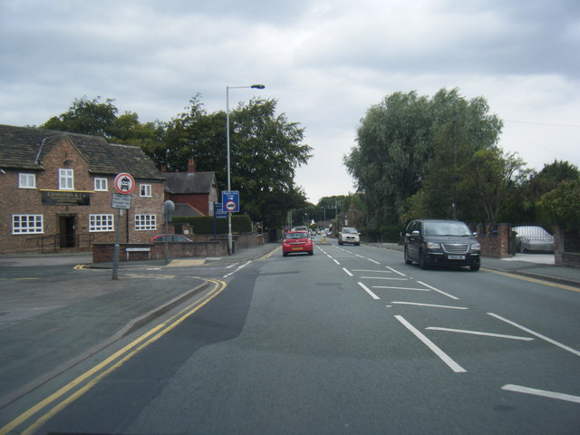 Buxton Road at Alders Green Avenue