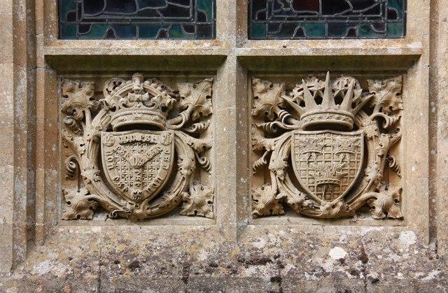 All Saints, Welborne - Exterior detail