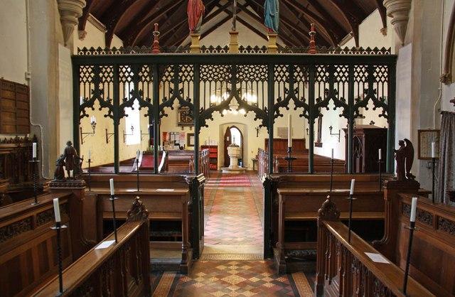 All Saints, Welborne - West end