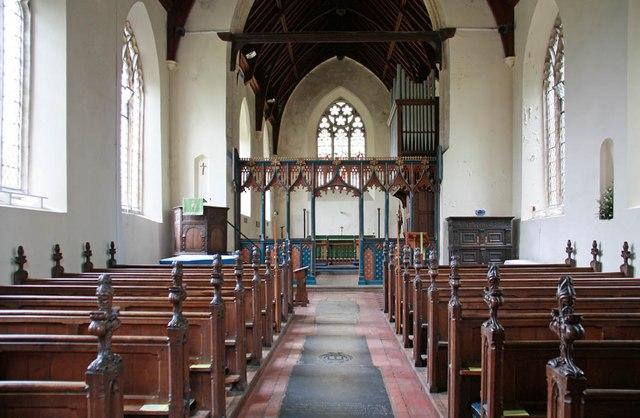St Edmund, Costessey - East end