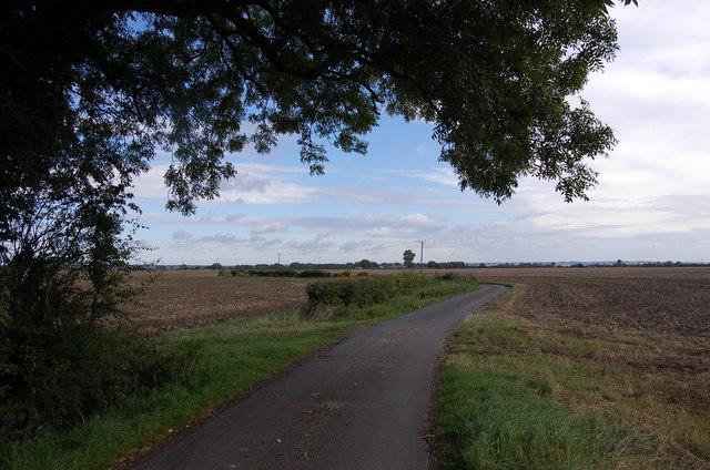 Moor Lane, near Brenzett Place