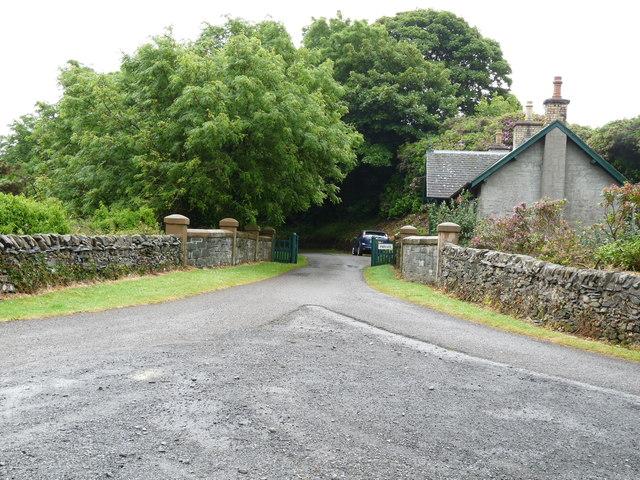 Path at Craigcaffie
