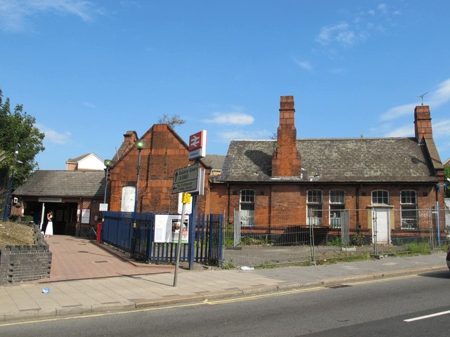 Cricklewood station and the old Station House, Cricklewood Lane, NW2