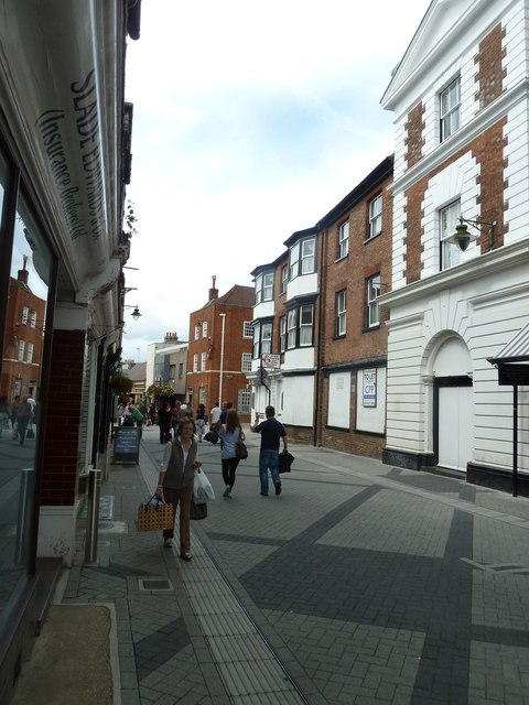 Pedestrians in East Street