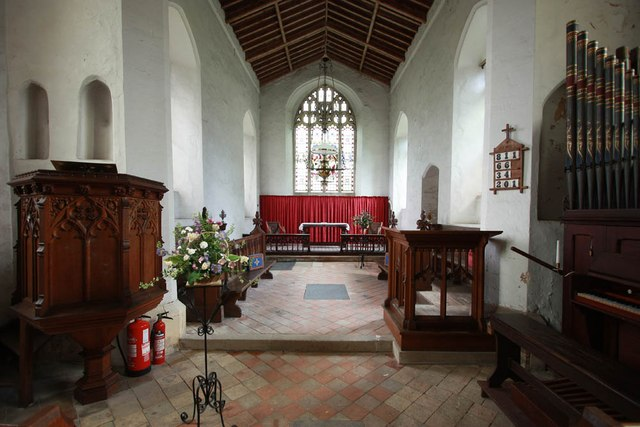 St Mary, Carleton Forehoe - Chancel