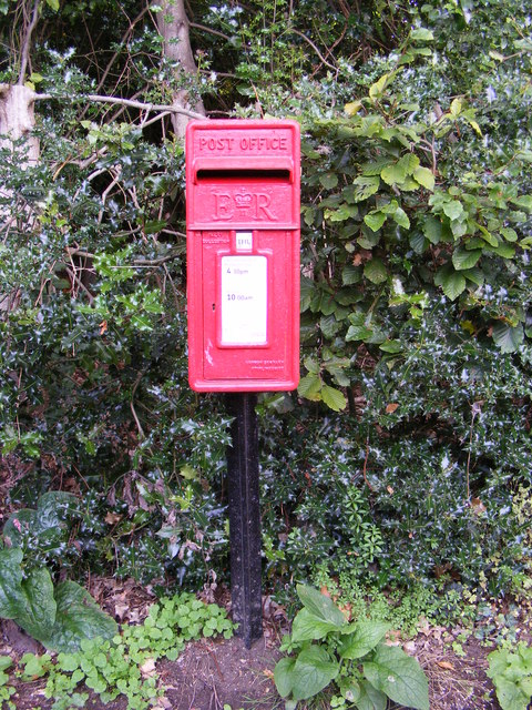 Bealings Holt  Postbox