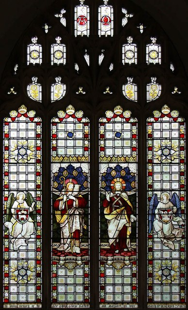 St Mary, Carleton Forehoe - Stained glass window