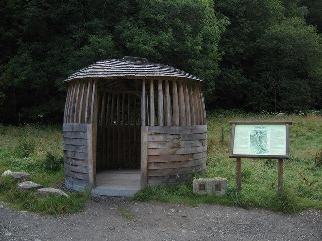 Shelter, Coedydd Aber