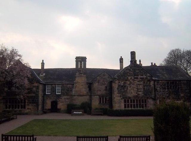 Oakwell Hall, Birstall (rear view)