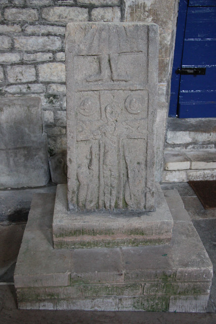 Saxon cross shaft